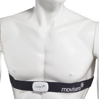 Move 4 Sensor attached with chest belt